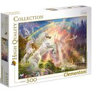 Puzzle Sunset Unicorns 500 teilig  | Clementoni
