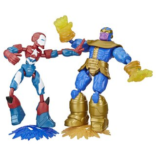 HASBRO Avengers Bend and Flex 2x | Hasbro