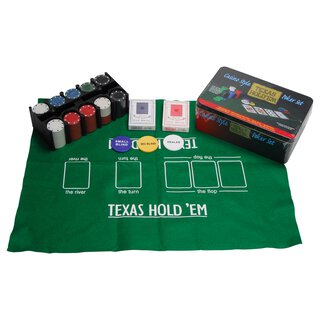 WEIBLE Poker-Set Texas Holdem | WEIBLE